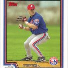 Josh Labandeira 2004 Topps Rookie #310 Montreal Expos Baseball Card