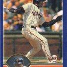 Kenny Lofton 2003 Topps #622 San Francisco Giants Baseball Card