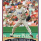 Greg Maddux 2006 Topps #45 Chicago Cubs Baseball Card