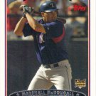 Mike McDougall 2006 Topps Rookie #322 Texas Rangers Baseball Card