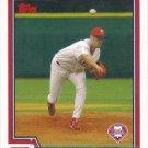 Brett Myers 2004 Topps #551 Philadelphia Phillies Baseball Card