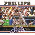 Jason Phillips 2005 Topps #190 New York Mets Baseball Card