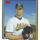 Mark Redman 2004 Topps #412 Oakland Athletics Baseball Card