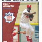Edgar Renteria 2004 Topps #710 St. Louis Cardinals Baseball Card