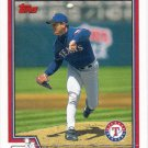 Kenny Rogers 2004 Topps #607 Texas Rangers Baseball Card