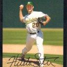 Huston Street 2007 Topps #124 Oakland Athletics Baseball Card