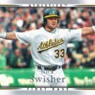 Nick Swisher 2007 Upper Deck #182 Oakland Athletics Baseball Card