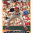 Julian Taveras 2006 Topps #168 St. Louis Cardinals Baseball Card
