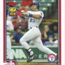 Mark Teixeira 2004 Topps #527 Texas Rangers Baseball Card