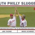 Jim Thome-Mike Schmidt 2004 Topps #695 Philadelphia Phillies Baseball Card