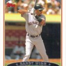 Randy Winn 2006 Topps #57 San Francisco Giants Baseball Card