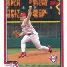 Randy Wolf 2004 Topps #222 Philadelphia Phillies Baseball Card