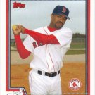 Tony Womack 2004 Topps #591 Boston Red Sox Baseball Card
