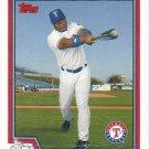 Eric Young 2004 Topps #494 Texas Rangers Baseball Card