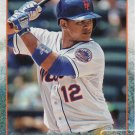 Juan Lagares 2015 Topps #306 New York Mets Baseball Card