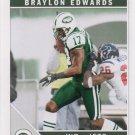 Braylon Edwards 2011 Score #199 New York Jets Football Card