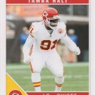 Tamba Hali 2011 Score #147 Kansas City Chiefs Football Card