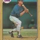 Bruce Benedict 1987 Topps #186 Atlanta Braves Baseball Card