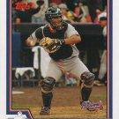 Johnny Estrada 2004 Topps #397 Atlanta Braves Baseball Card