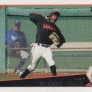 Eugenio Velez 2009 Topps #638 San Francisco Giants Baseball Card