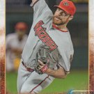 Josh Collmenter 2015 Topps #591 Arizona Diamondbacks Baseball Card