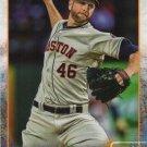 Scott Feldman 2015 Topps #635 Houston Astros Baseball Card
