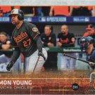 Delmon Young 2015 Topps #383 Baltimore Orioles Baseball Card