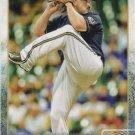 Jonathan Broxton 2015 Topps #666 Milwaukee Brewers Baseball Card