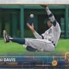 Rajai Davis 2015 Topps #518 Detroit Tigers Baseball Card