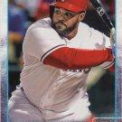 Prince Fielder 2015 Topps #422 Texas Rangers Baseball Card