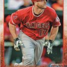 Chris Iannetta 2015 Topps #631 Angels Baseball Card