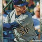 Jonathan Lucroy 2015 Topps #675 Milwuakee Brewers Baseball Card