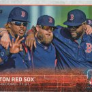 Boston Red Sox 2015 Topps #696 Baseball Team Card