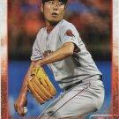 Koji Uehara 2015 Topps #371 Boston Red Sox Baseball Card