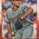 Taylor Hill 2015 Topps Rookie #655 Washington Nationals Baseball Card