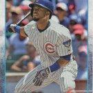 Arismendy Alcantara 2015 Topps #37 Chicago Cubs Baseball Card