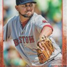 Edward Mujica 2015 Topps #131 Boston Red Sox Baseball Card