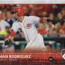 Yorman Rodriguez 2015 Topps Rookie #641 Cincinnati Reds Baseball Card