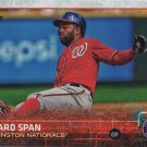 Denard Span 2015 Topps #440 Washington Nationals Baseball Card