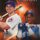 David Wright-Darryl Strawberry 2015 Topps 'Eclipsing History' #EH-10 New York Mets Baseball Card