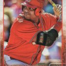 Brayan Pena 2015 Topps #520 Cincinnati Reds Baseball Card
