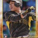 Jung Ho Kang 2015 Topps Rookie #418 Pittsburgh Pirates Baseball Card