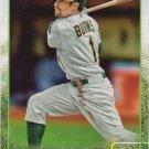 Billy Burns 2015 Topps Update #US254 Oakland Athletics Baseball Card