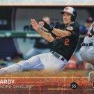 J.J. Hardy 2015 Topps #563 Baltimore Orioles Baseball Card