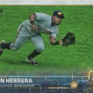 Elian Herrera 2015 Topps #453 Milwaukee Brewers Baseball Card