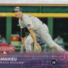 D.J. LeMahieu 2015 Topps Update #US349 Colorado Rockies Baseball Card