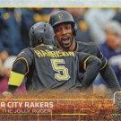 Andrew McCutchen-Josh Harrison 2015 Topps Update #US15 Pittsburgh Pirates Baseball Card