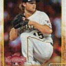 Gerrit Cole 2015 Topps Update #US355 Pittsburgh Pirates Baseball Card
