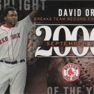 David Ortiz 2015 Topps Highlight of the Year #H-86 Boston Red Sox Baseball Card