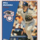 Mike Mussina 2004 Topps #695 New York Yankees Baseball Card